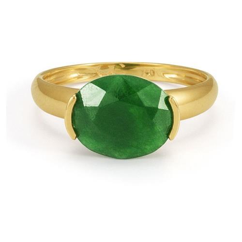 Anel de Ouro 18k com Jade