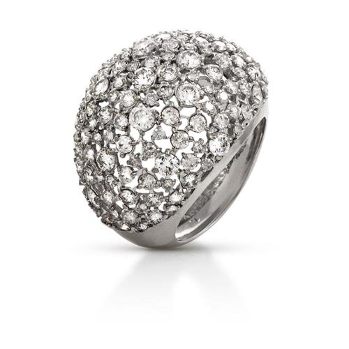 Anel de Ouro 18k com Diamante