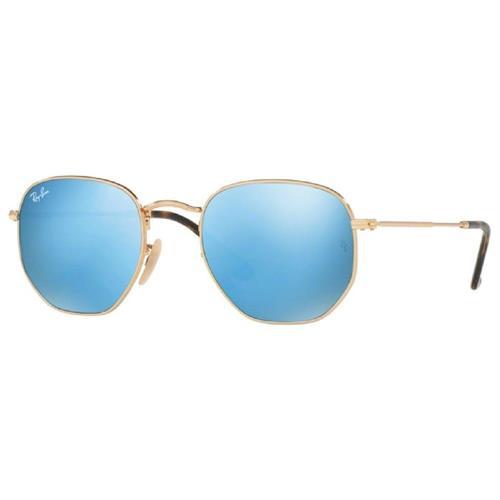 Óculos de Sol Unissex Ray Ban Hexagonal - 0RB3548N 001/9O54