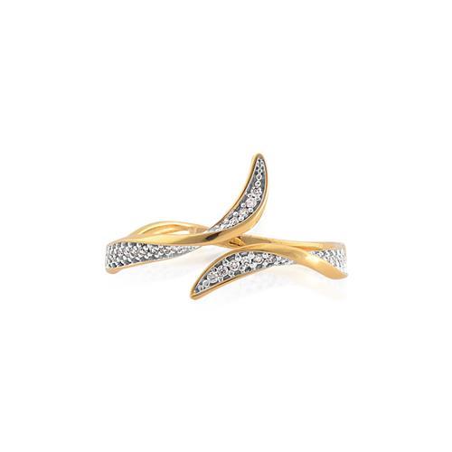 Anel de Ouro 18k com Diamanted