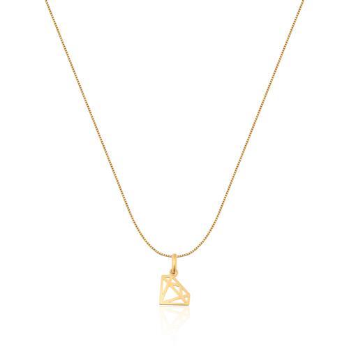 Pingente de Ouro 18k de Diamante