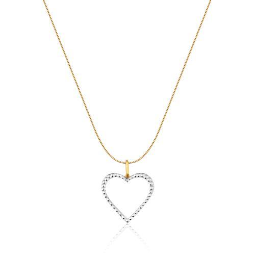 Pingente de Ouro 18k de Coração