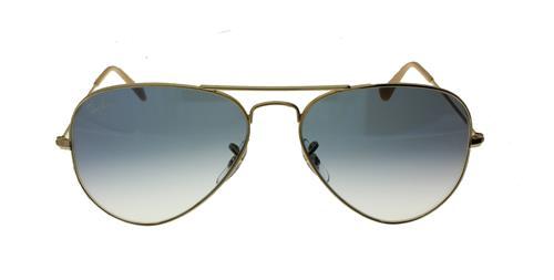 Óculos de Sol Unissex Ray Ban Aviator - 0RB3025L 001/3F55
