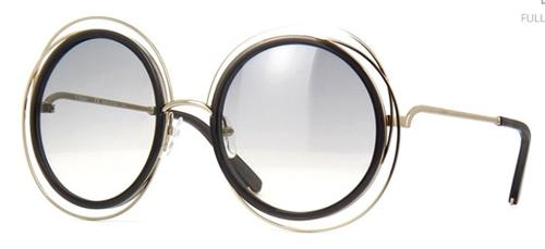 Óculos de Sol Feminino Chloé Coloured Carlina             - CE120S.731