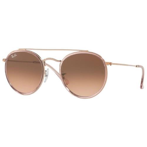 Óculos de Sol Unissex Ray Ban ROUND DOUBLE BRIDGE - 0RB3647N 9069A551