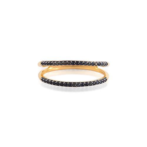 anel de ouro 18k com espinélio