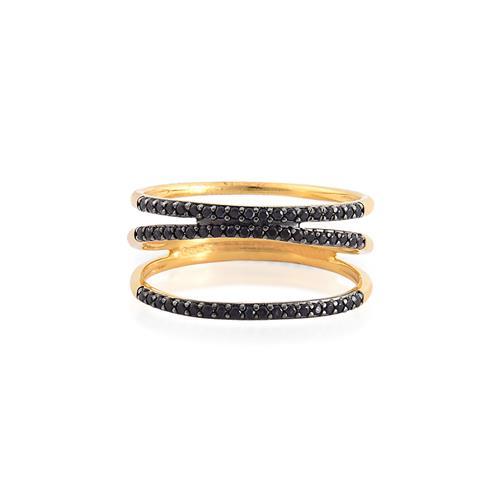 anel de ouro 18k com espinélio.