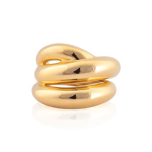 anel de ouro 18k