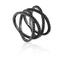anel de prata 925 com zircônia