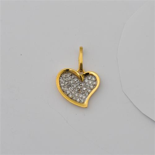 Pingente de Ouro 18k com Diamante