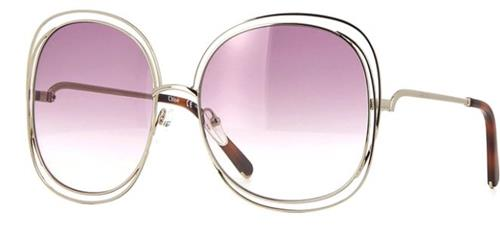 Óculos de Sol Feminino Chloé Carlina - CE126S 803
