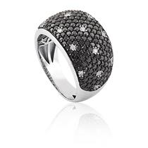 anel de ouro 18k com diamantes