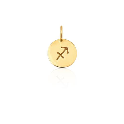 Pingente de Ouro 18k de Signo Sagitário