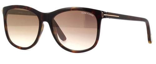 Óculos de Sol Feminino Tom Ford Fiona - TF567.52G56