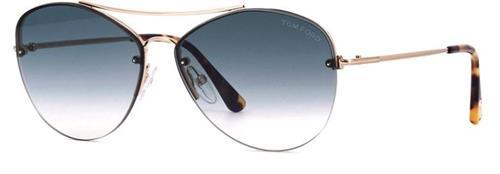 Óculos de Sol Feminino Tom Ford Margret - TF566.28W60