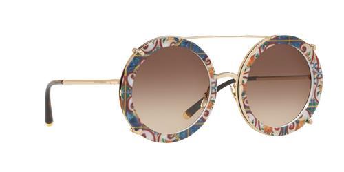 Óculos de Sol Feminino 3 em 1 Dolce&Gabanna - 0DG2198 02/13 63
