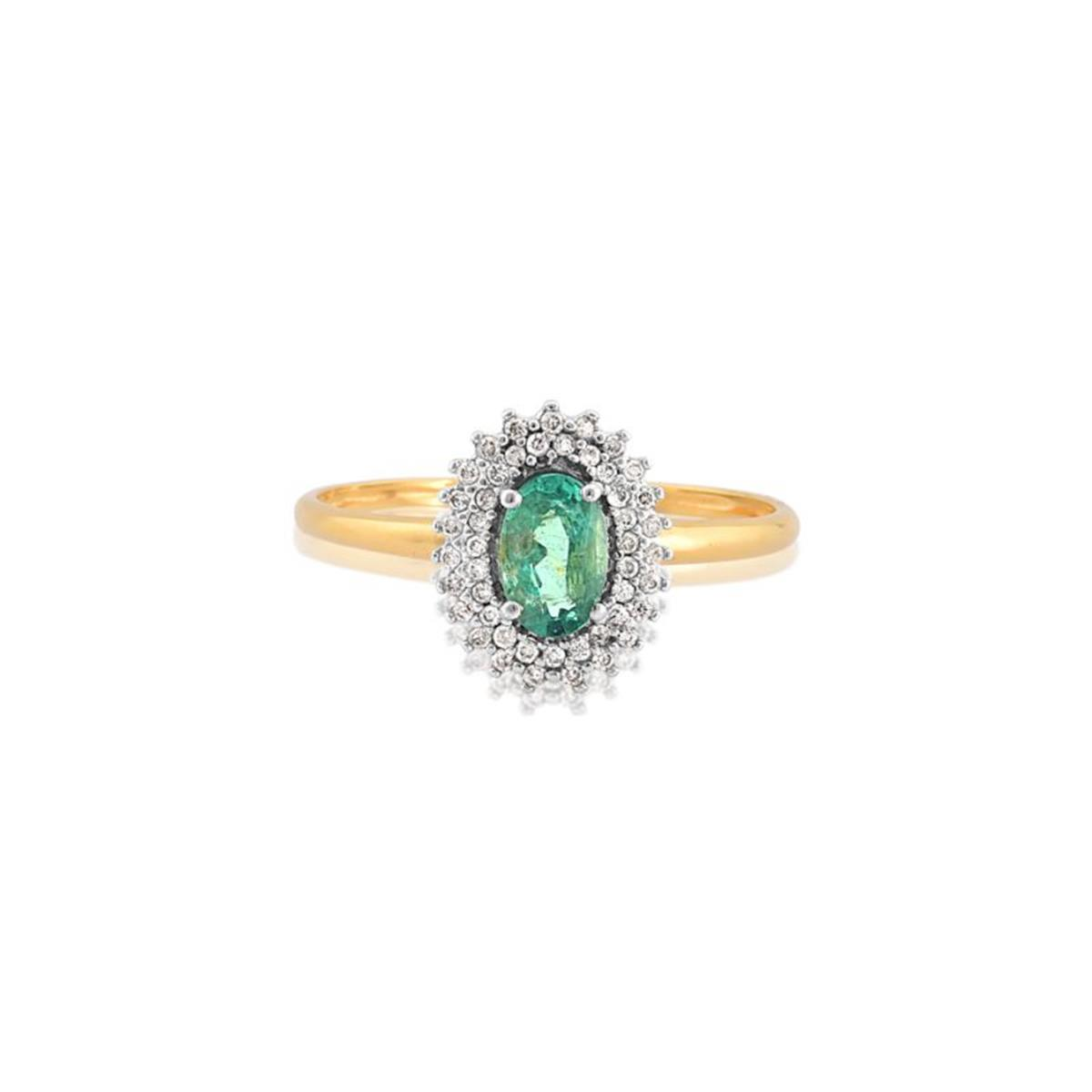 c32118400b7 Anel de Ouro 18k de Formatura com Rubi e Diamantes - AFN9242 0085 - Coliseu