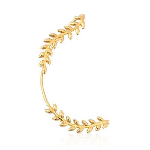 Brinco de Ouro 18k Ear Cuff - Lado Direito