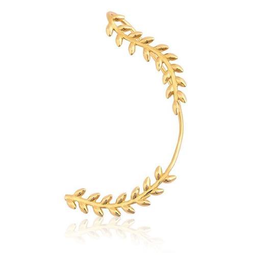 Brinco de Ouro 18k Ear Cuff - Lado Esquerdo