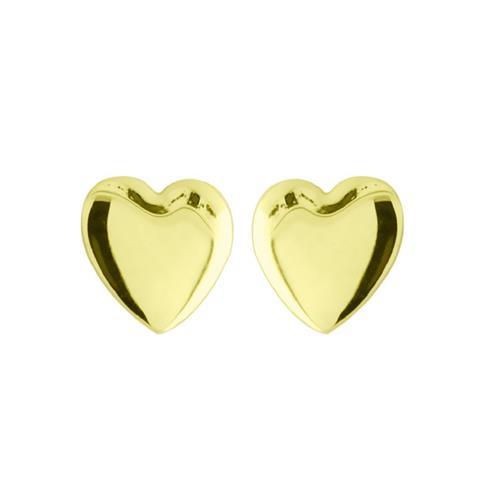 Brinco de Ouro 18k de Coração