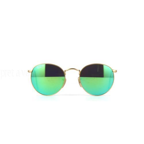 Óculos de Sol Unissex Ray Ban Round - RB3447.112P950
