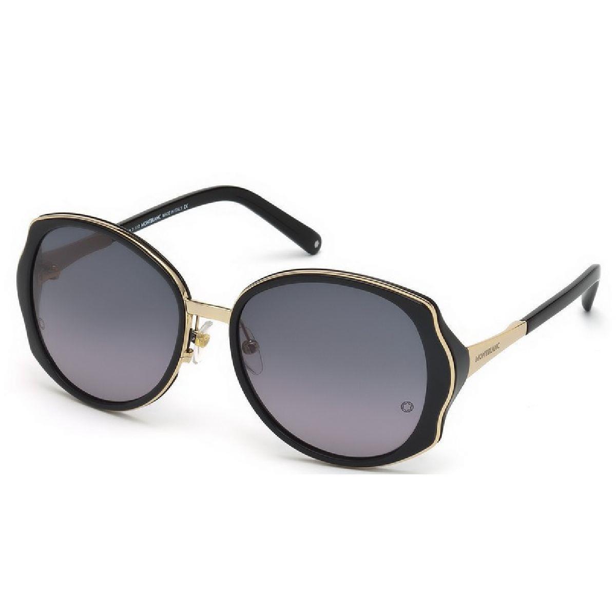 Óculos de Sol Feminino Mont blanc - MB416S.01B 58 - MB416S.01B 58 - MONT  BLANC b6110b94af