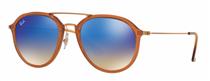 Óculos de Sol Unissex Ray Ban Aviator - RB4253.62388B53