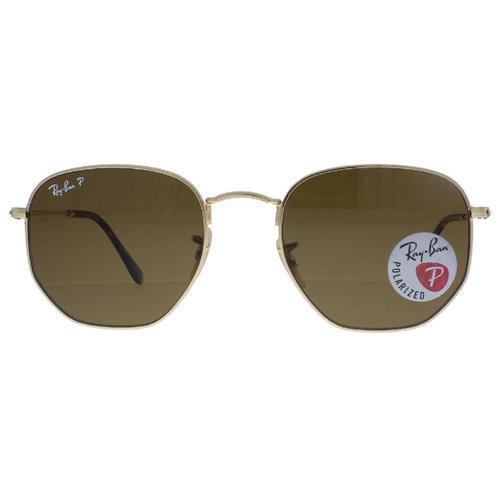 Óculos de Sol Unissex Ray Ban Hexagonal - RB3548N.001/5754
