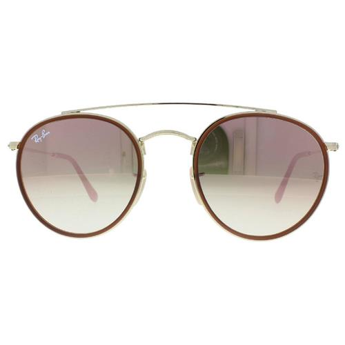 Óculos de Sol Unissex Ray Ban ROUND DOUBLE BRIDGE - RB3647N.001/7O51