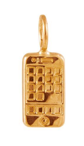 Pingente de Ouro 18k de Celular