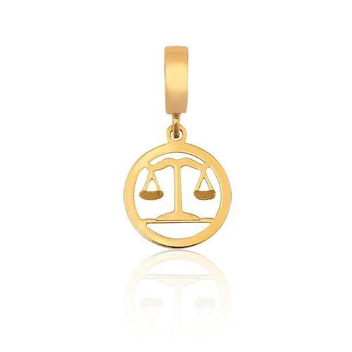 Pingente de Ouro 18k Charms de Formatura Direito
