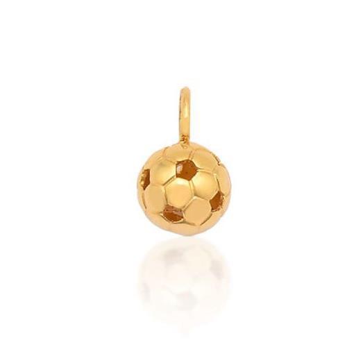 Pingente de Ouro 18k Charms de Bola