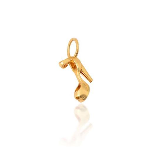 Pingente de Ouro 18k Charms de Sandália