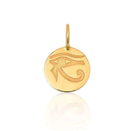 Pingente de Ouro 18k Charms de Olho de Hórus