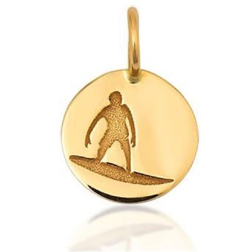 Pingente de Ouro 18k Charms de Surf