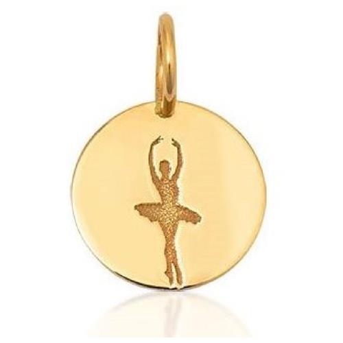Pingente de Ouro 18k Charms de Bailarina