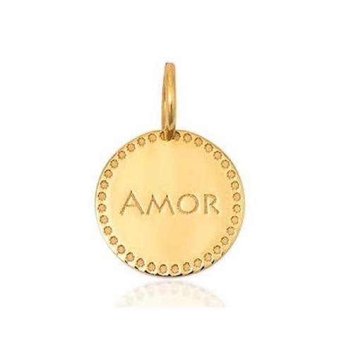 Pingente de Ouro 18k Charms de Amor