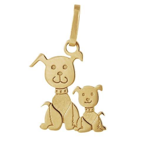 Pingente de Ouro 18k de Cachorro