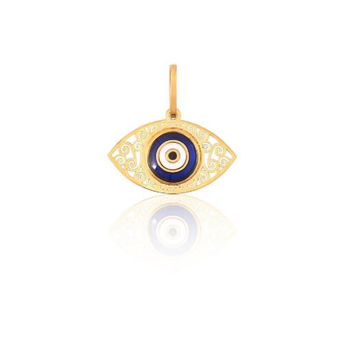 Pingente de Ouro 18k de Olho Grego