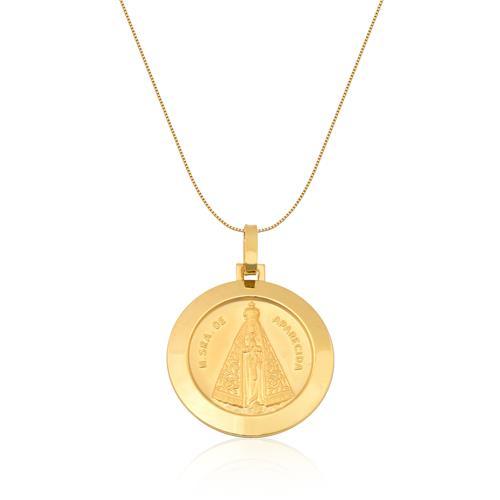 Pingente de Ouro 18k de N. S. Aparecida