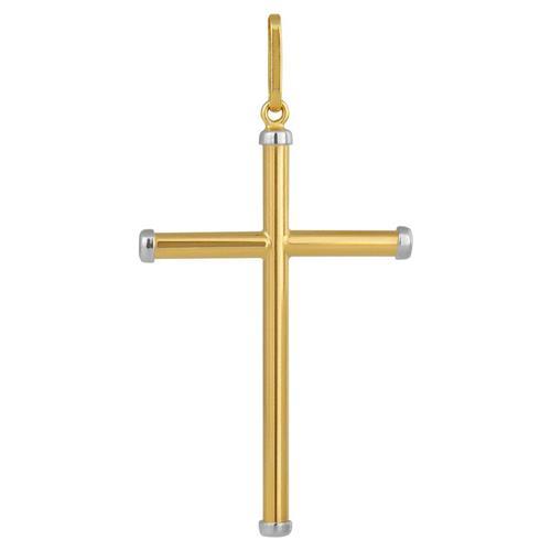 Pingente de Ouro 18k de Cruz