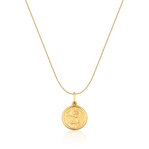 Pingente de Ouro 18k de Anjo