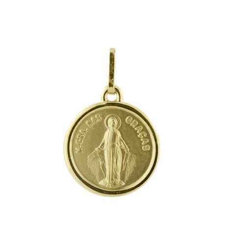 Pingente de Ouro 18k de N. S. das Graças
