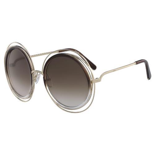 Óculos de Sol Feminino Chlóe Coloured Carlina - CE120S.742